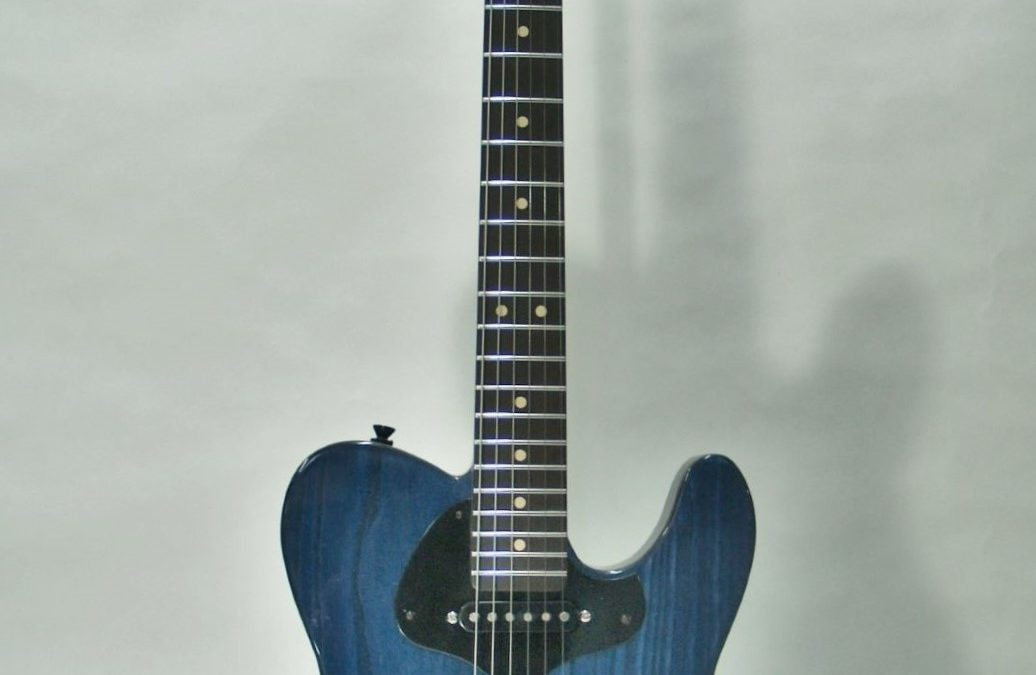 The prototype Blue Hour Electric Guitar is now reduced and available at Norfolk & Jarvis