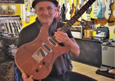 The Triple Electric Guitar SN 736936G is now in stock at London Guitars
