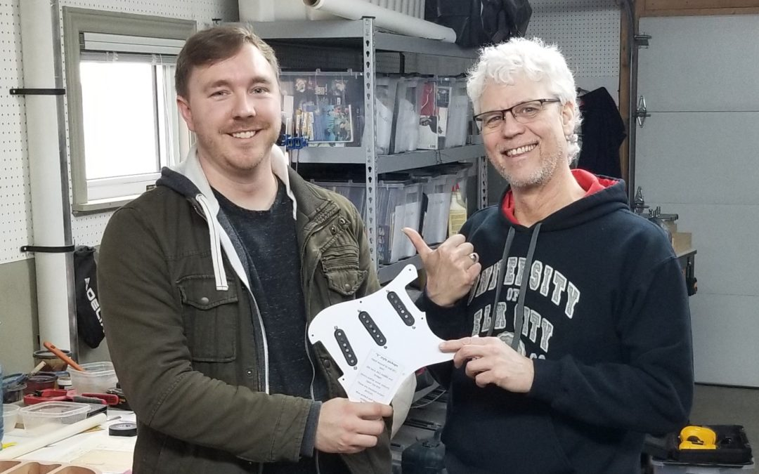 And the winner of the Norfolk & Jarvis draw at the 2019 Elmira Vintage Guitar Show is…