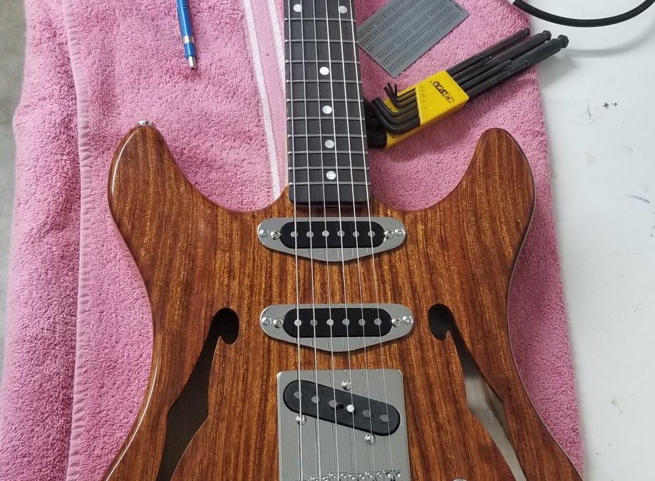 Further reflections on a guitar build