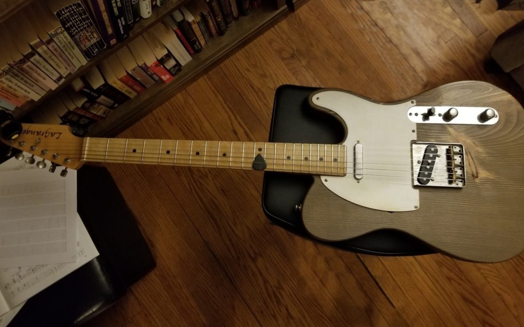 The Norfolk & Jarvis LaGrange Electric Guitar is now for sale at $2,000 plus tax