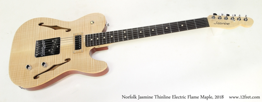 The Norfolk & Jarvis Jasmine Electric Guitar is now on sale at The Twelfth Fret Guitarist's Pro Shop